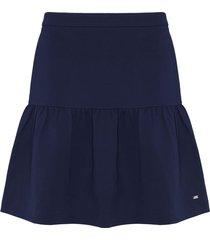 falda azul tommy hilfiger imogen skirt
