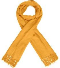 cachecol básico canal - amarelo