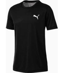 active t-shirt voor heren, zwart, maat m | puma