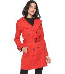 casaco trench coat banana republic classic trench vermelho