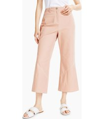 alfani petite wide-leg cropped pants, created for macy's