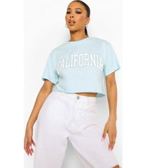 kort california t-shirt, blue