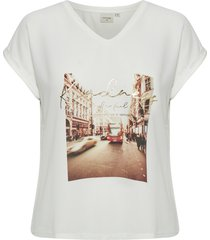 cream noracr t-shirt ev