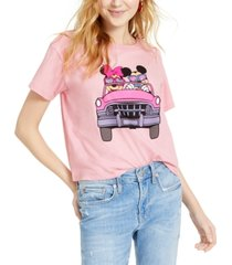 disney juniors' mickey & minnie mouse graphic t-shirt
