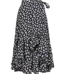 ralph lauren wrap skirt