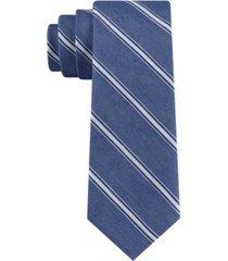tommy hilfiger men's coastline stripe skinny tie