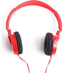 audifonos diadema rojo color rojo, talla uni