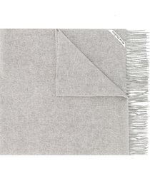 acne studios canada new oversized scarf - grey