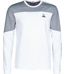 sweater le coq sportif saison 1 crew sweat n°1 m bleu tricotage
