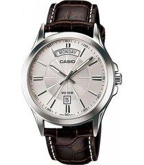 reloj casio mtp-1381l-7a-marron