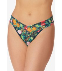 hanky panky women's tropical delight original rise thong