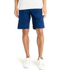 good man brand wrap diamond dash slim fit shorts, size 36 in indigo at nordstrom