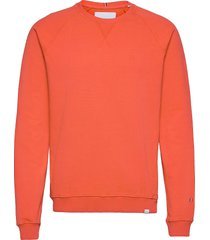 calais sweatshirt sweat-shirt tröja orange les deux