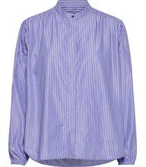 gigi shirt långärmad skjorta blå britt sisseck