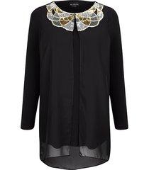 2-in-1-shirt m. collection zwart