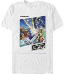 fifth sun men's star wars empire strikes back war isn't over poster short sleeve t-shirt