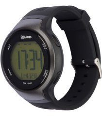 relógio digital x games xmppd557 - masculino - preto/cinza esc
