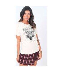 blusa t-shirt fearless pop me