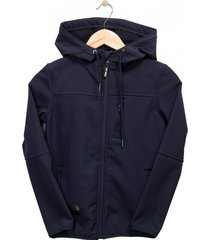 chaqueta softshell azul marino  pillin