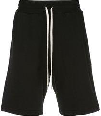 john elliott crimson shorts - black