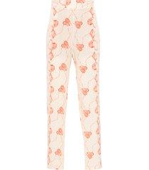 calça feminino pijama concha - bege