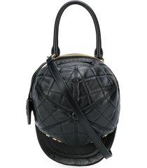 moschino hat shoulder bag - black