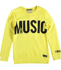 retour sweater bright yellow