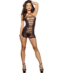 vestido ajustable dreamgirl 9175 negro