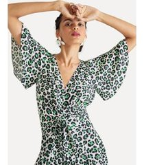 blusa amarracao oncinha eva - feminino