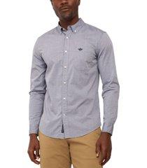 dockers men's alpha icon regular-fit supreme flex performance stretch poplin shirt