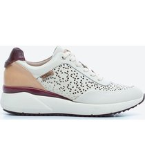 zapato casual mujer pikolinos tdhy beige