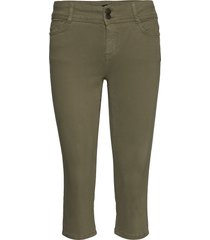 sc-erna trousers capri trousers grön soyaconcept