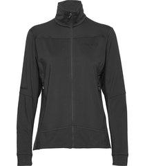 falketind warm1 stretch jacket w's sweat-shirt trui zwart norrøna