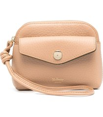 mulberry press-stud pouch - neutrals