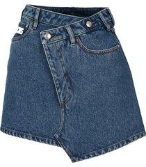 gcds new denim skirt