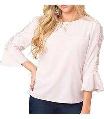 blusa angel rosado  para mujer croydon
