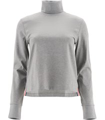 thom browne jersey turtleneck sweatshirt