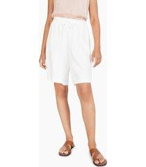 alfani drawstring-waist bermuda shorts, created for macy's