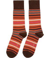 tinted stripe socks