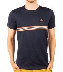 camiseta fondo entero azul oscuro ref. 107111119
