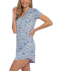 munki munki camper sleepshirt nightgown, online only