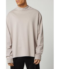 maison margiela men's soft sweatshirt - nude beige - it 52/xl