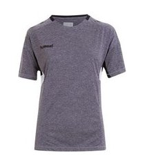 camiseta hummel tech move jersey design feminina