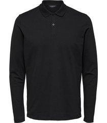 polo shirt met lange mouwen