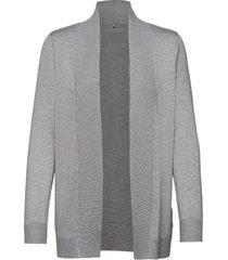 jacket knit fabrics gebreide trui cardigan grijs gerry weber edition