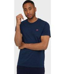 levis ss original hm tee cotton t-shirts & linnen blue