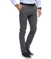 pantalon chino gris guy laroche
