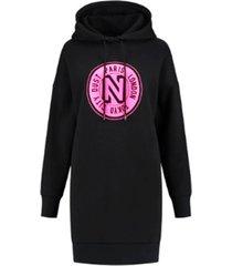 logo hoodie dress - n5-856 2001 9070
