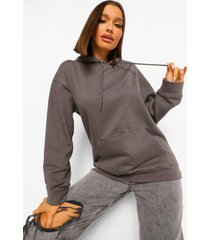 oversized graffiti t-shirt en joggingbroek set, charcoal