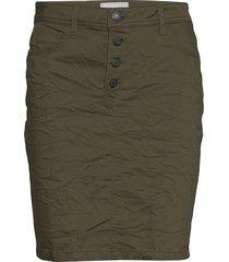 charlie-sk-trix kort kjol grön free/quent